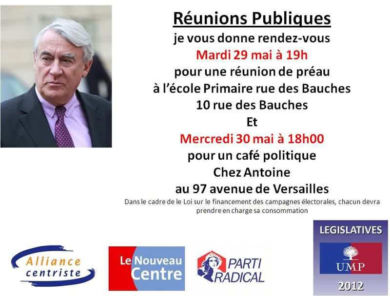 Réunions publiques 29 mai