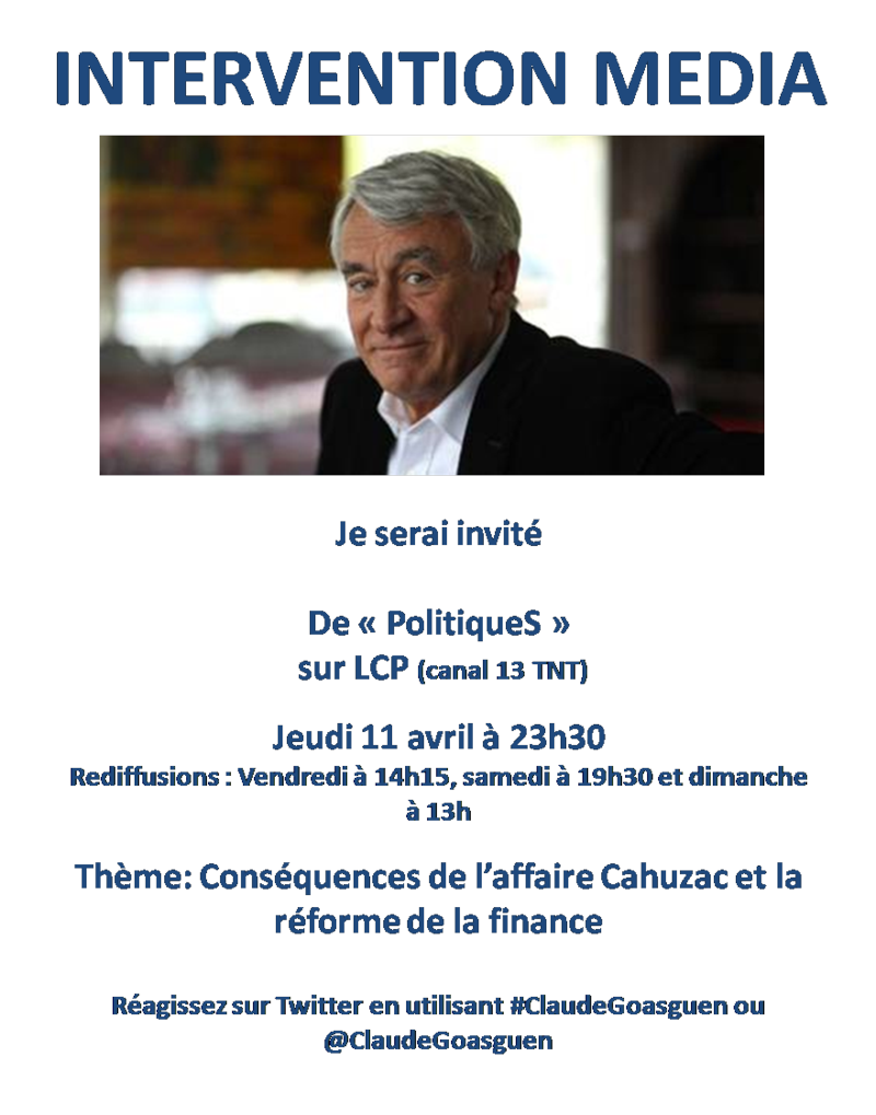 LCP jeudi 11 avril  Serge Moatti